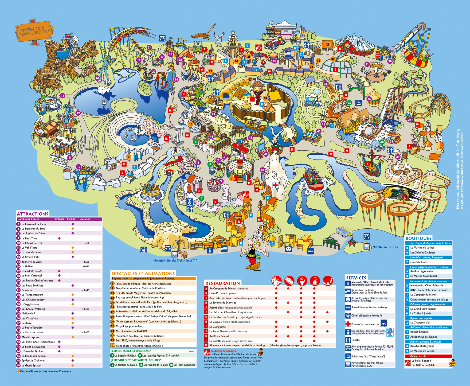 Disneyland Paris France Map